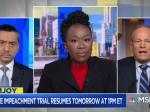 Joy Reid Wrangles GOP Toady Into Truth-Land About Trump's Trial