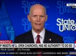 Rick Scott Insists On His Right To Attend In-Person Worship Even If It Kills People