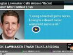 Washington Lawmaker Calls Arizona 'Racist Wasteland' After Football Loss