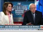Bernie Sanders Attempts To Debate Michele Bachmann