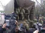 Pro-Russian Forces Flex Muscles In Crimea