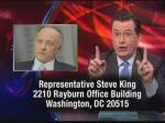 Colbert Urges LGBT Viewers To Send Steve King Photos And Videos To Prove They Exist