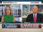 John McCain Attacks Obama For Not Offering Military Assistance To Ukraine
