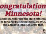 Minnesota Becomes Fifth State To Hike Minimum Wage In 2014