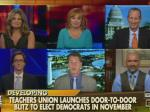 Fox Pundits Very Upset Democrats Have Teachers Going Door To Door For 2014 Midterms