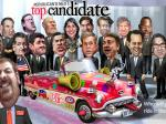 Jeb And Mitt Bicker Over Top Seat In GOP 2016 Clown Car