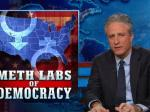 The Daily Show Takes On Our 'Meth Labs Of Democracy' And Gay Marriage