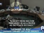 Fox News Outraged That A Lawmaker Compares Police Brutality To ISIS