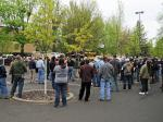 'Patriots' Rally For Oregon Mine Owners Turns Out A Tepid Affair