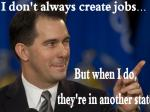 Walker Tries To Rewrite His Job Creation History