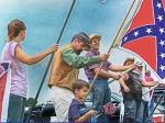 League Of The South Holds July 4th Rally For Confederate Flag And 'Christian Marriage'