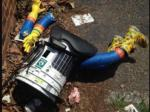 HitchBOT The Hitchhiking Robot Meets Grisly End In Philly