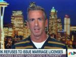 Dan Savage Lays Into Hypocritical KY Clerk And Her Four Marriages