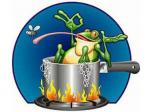 The Water Is Boiling Now And The Frog Still Doesn't Know It