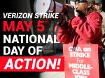 Thursday Day Of Action To Support Verizon Workers -- And Each Other