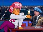 Colbert Is Joined By Cartoon Trump For Latest Installment Of 'Hungry For Power Games'