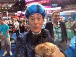 Stephen Colbert Rushes The Stage At The DNC