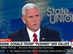 Mike Pence: Democrats' Accusations Of Racism 'Sound Desperate'