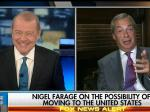Fox Host Wants Bigoted Demagogue Nigel Farage To Move To The U.S.