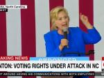 Hillary Clinton Goes All In On Voting Rights, Promises Repair Of VRA