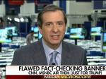 Howard Kurtz Whines About CNN And MSNBC Using Fact-Checking Banners For Trump