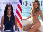 Conservatives Threw A Fit When Michelle Obama Went Sleeveless But Melania Trump Gets A Pass