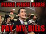 Walker Finally Pays Off Presidential Campaign Debt*