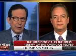 Chris Wallace Slams Priebus For Attacking The Media: 'You Don't Get To Tell Us What To Do Reince!'