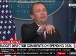 Mick Mulvaney Spins For Trump: 'We Haven't Done The Math' On The Wall
