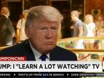 Trump Tweets: 'I Have Very Little Time For Watching TV'
