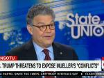 Franken Punches Holes In Trump's Pathetic Attempts To Discredit Mueller