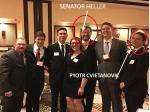 Nevada's Sen. Dean Heller Literally Stands With Racists