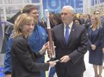 Open Thread - Caption This 'Mike Pence Holding A Rocket' Photo!