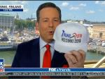 Fox's Ed Henry Gushes Over Getting The Last 'Trump-Putin Helsinki 2018' Hat