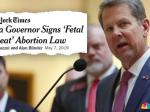 Prosecutors In 5 Georgia Counties Vow Not To Enforce 'Heartbeat' Abortion Law