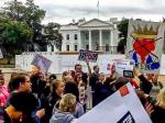 WATCH: Protesters Shout 'Impeach Trump' Outside Of The White House
