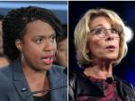 Rep. Ayanna Pressley Clobbers Betsy DeVos For Comparing Slavery To Abortion