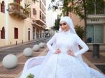 Beirut Explosion: Bride's Photoshoot Interrupted By Massive Blast