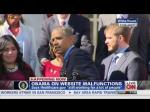 Obama Catches Fainting Woman During Healthcare Speech