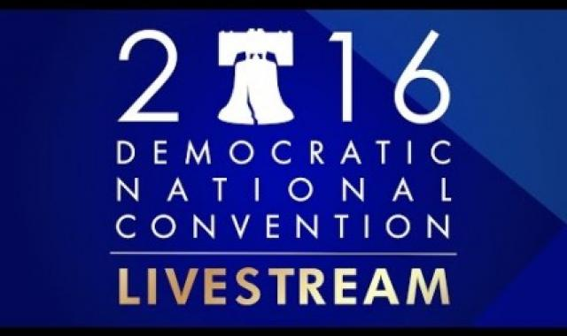 Prime Time Livestream Of The Democratic National Convention