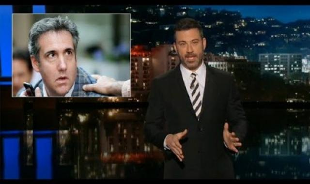 Jimmy Kimmel Says Michael Cohen Should 'Flip Like An Acrobat!'