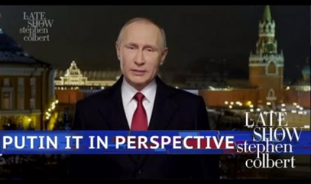 Vladimir Putin's 'Response' To The State Of The Union