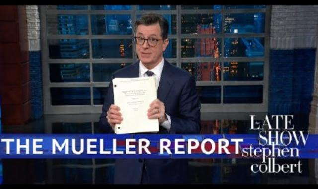 'The Colbert Report'?  Stephen's Hilarious Take On Mueller