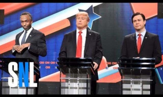 Did Somebody Say Debate?  SNL Republican Debate 2015