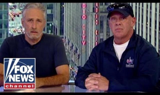 Jon Stewart Rips 'Bottom Feeder' Rand Paul For Blocking 9-11 First Responder Funding