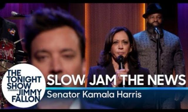 Kamala Harris Slow Jams The News!