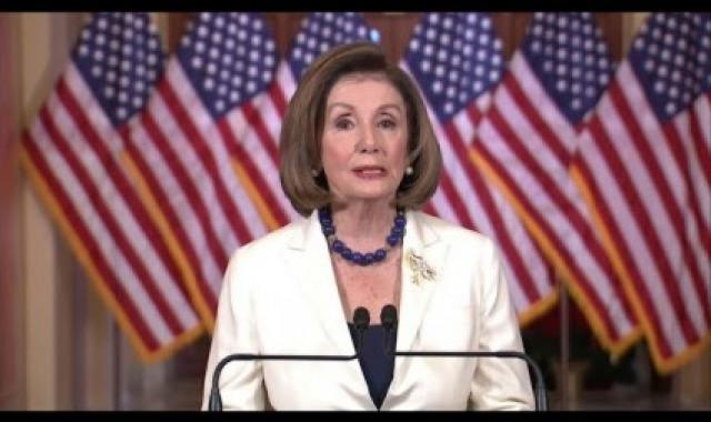 Nancy Pelosi:  It's Time To Proceed With Articles Of Impeachment