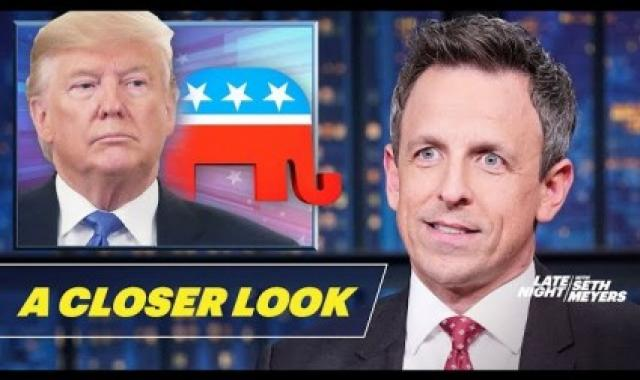 Seth Meyers Takes A 'Closer Look' At Trump's Impeachment