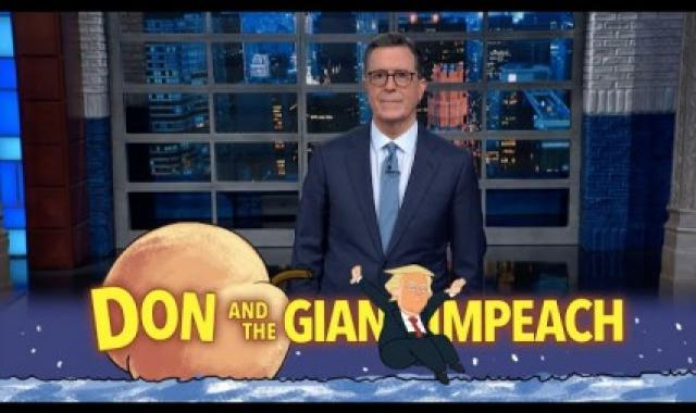 Stephen Colbert Ridicules Trump On His Definition Of Impeachable