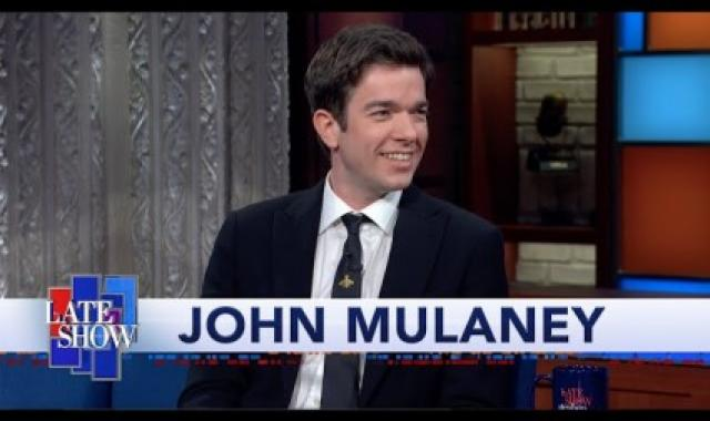 John Mulaney Discusses Heaven And Hell With Colbert